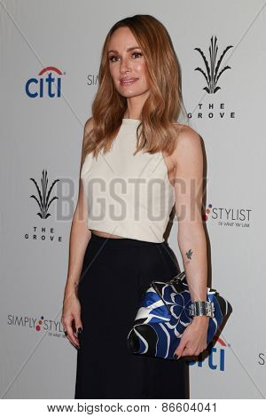 LOS ANGELES - MAR 28:  Cat Sandler at the Simply Stylist LA at the The Grove on March 28, 2015 in Los Angeles, CA