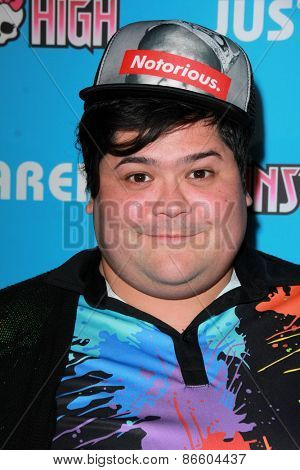 LOS ANGELES - MAR 26:  Harvey Guillen at the Just Jared's Throwback Thursday Party at the Moonlight Rollerway on March 26, 2015 in Glendale, CA