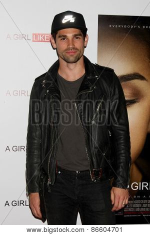 LOS ANGELES - MAR 27:  Justin Gaston at the