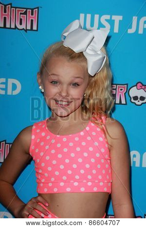 LOS ANGELES - MAR 26:  JoJo Siwa at the Just Jared's Throwback Thursday Party at the Moonlight Rollerway on March 26, 2015 in Glendale, CA