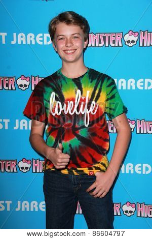 LOS ANGELES - MAR 26:  Jacob Hopkins at the Just Jared's Throwback Thursday Party at the Moonlight Rollerway on March 26, 2015 in Glendale, CA