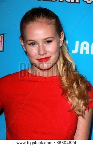 LOS ANGELES - MAR 26:  Danika Yarosh at the Just Jared's Throwback Thursday Party at the Moonlight Rollerway on March 26, 2015 in Glendale, CA
