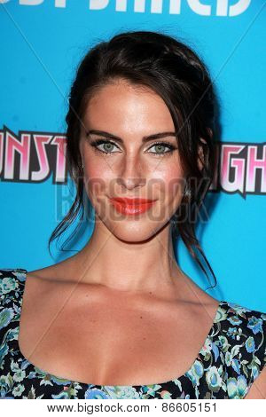 LOS ANGELES - MAR 26:  Jessica Lowndes at the Just Jared's Throwback Thursday Party at the Moonlight Rollerway on March 26, 2015 in Glendale, CA
