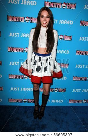 LOS ANGELES - MAR 26:  Kelli Berglund at the Just Jared's Throwback Thursday Party at the Moonlight Rollerway on March 26, 2015 in Glendale, CA