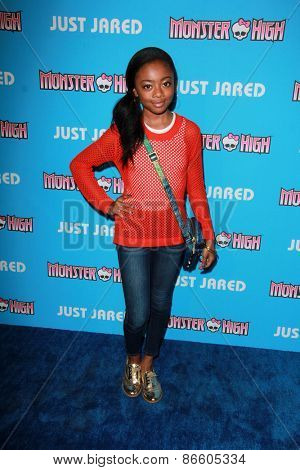 LOS ANGELES - MAR 26:  Skai Jackson at the Just Jared's Throwback Thursday Party at the Moonlight Rollerway on March 26, 2015 in Glendale, CA