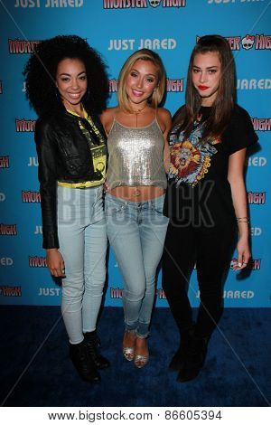 LOS ANGELES - MAR 26:  Sweet Suspense at the Just Jared's Throwback Thursday Party at the Moonlight Rollerway on March 26, 2015 in Glendale, CA