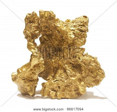 Giant gold nugget