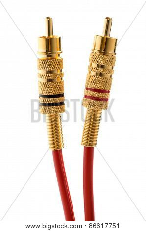 Brass Rca Connectors And Cables