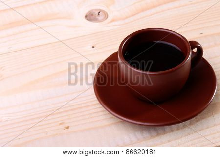 Coffee Cup On The Table