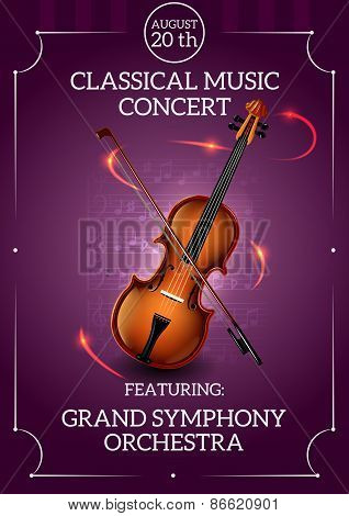 Classic Music Poster