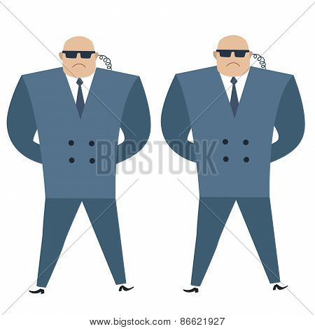 Formidable Security Professionals Secret Service Bodyguards