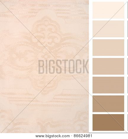 color complimentary chart card