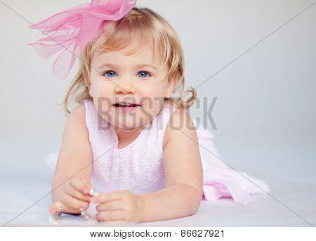 Cheerfull Little Girl