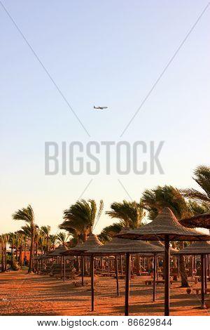 Aircraft Flies