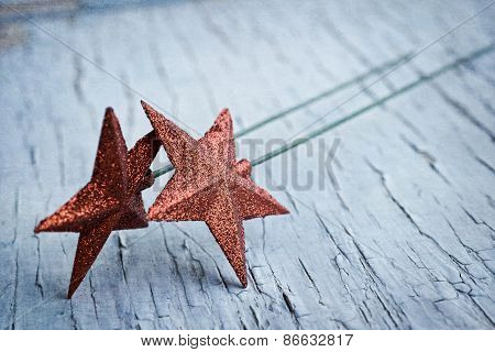 Two Star Decorations