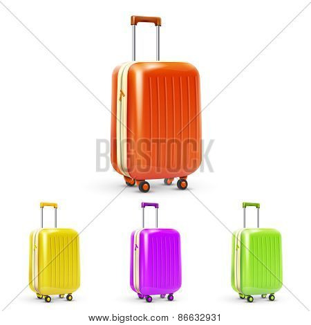 Travel Suitcase Set