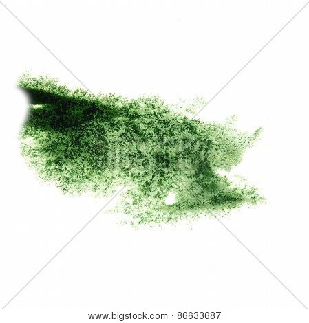 Abstract watercolor green background for your design insult