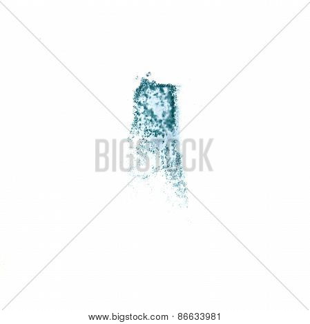 Abstract watercolor light blue background for your design insult