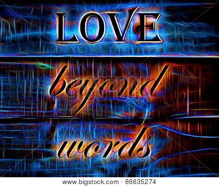 Love Beyond Words quote