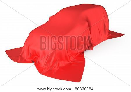 Car Covered With Cloth