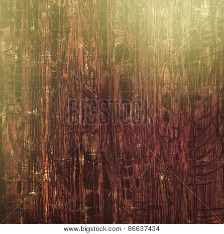 Abstract rough grunge background, colorful texture. With different color patterns: brown; gray; green