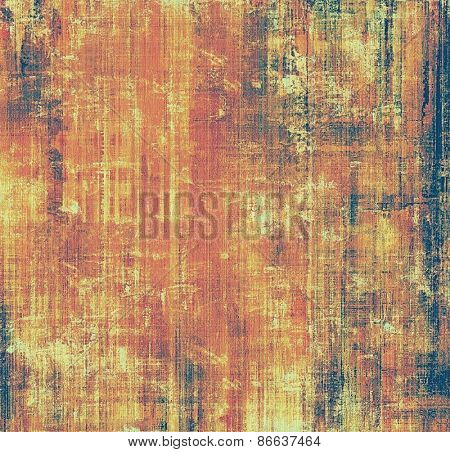 Abstract old background or faded grunge texture. With different color patterns: brown; purple (violet); red (orange)