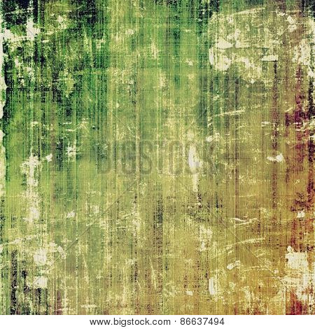 Art grunge vintage textured background. With different color patterns: yellow (beige); brown; green