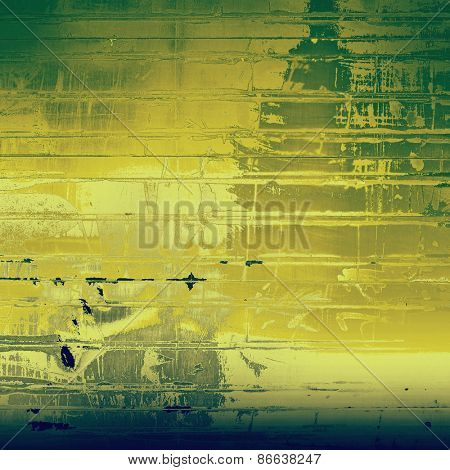 Art grunge vintage textured background. With different color patterns: yellow (beige); gray; green; blue