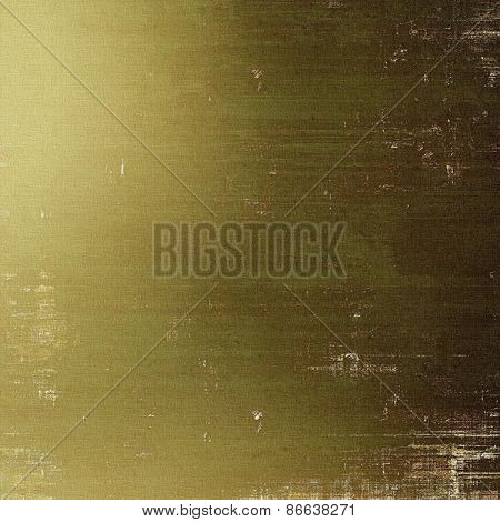 Grunge texture, Vintage background. With different color patterns: yellow (beige); brown; green