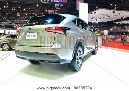Bangkok - March 26 : Lexus Nx 300H, Hybrid Suv Vehicle, On Display At 36Th Bangkok International Mot