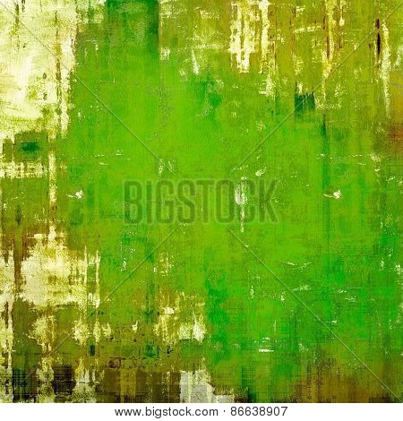Old texture - ancient background with space for text. With different color patterns: yellow (beige); brown; green