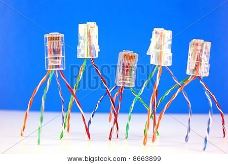 Connectors Rj45 For Network