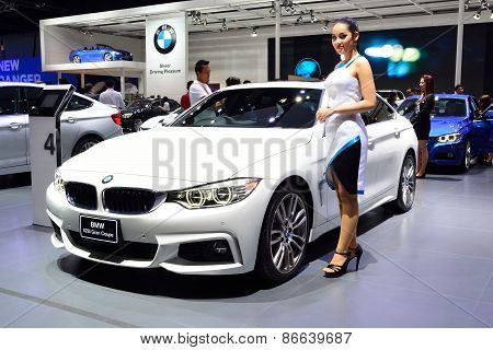 Bangkok - March 26 : Bmw 428I Gran Coupe On Display At 36Th Bangkok International Motor Show On Marc
