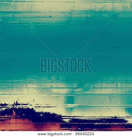 Old abstract grunge background for creative designed textures. With different color patterns: brown; purple (violet); blue