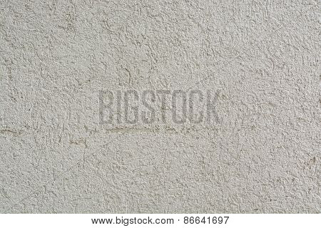 Texture Of Striated Stucco Wall For Use As Decorative Background