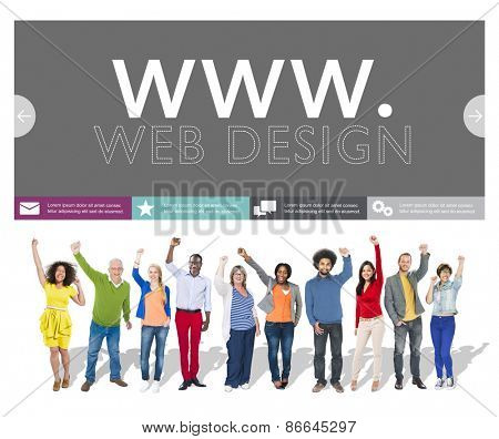 Www Web Design Web Page Website Concept