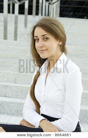 Modern professional businesswoman