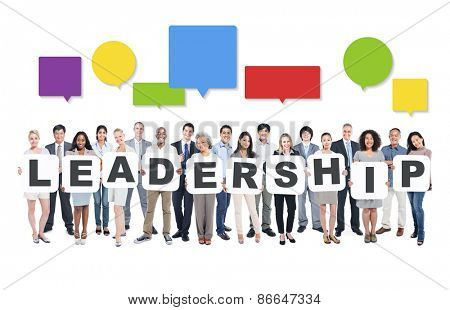 Leadership Business People Team Teamwork Success Strategy Concept