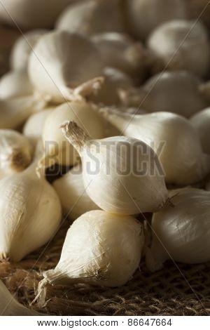 White Organic Pearl Onions