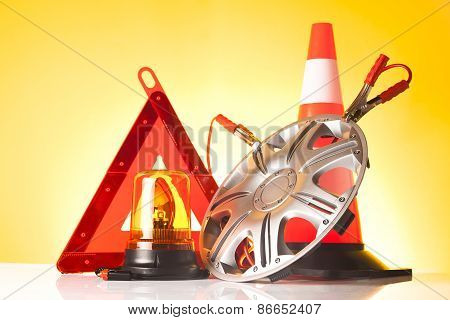 road emergency items and car accessories