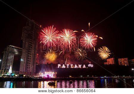 Pattaya, Thailand - Countdown 2015 , Thailand.