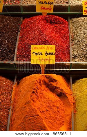 Spices In Grand Bazaar