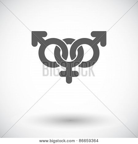 Group sex sign
