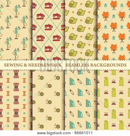 Sewing and needlework patterns