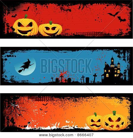 Grunge Halloweeen Backgrounds