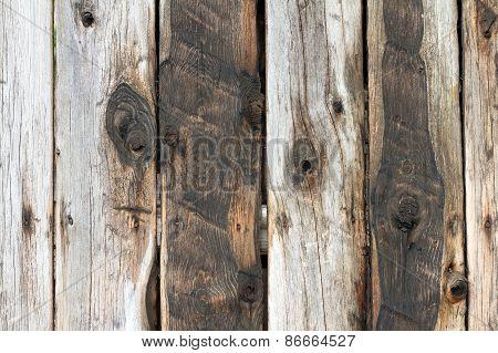 Wood Planks Texture On Fence