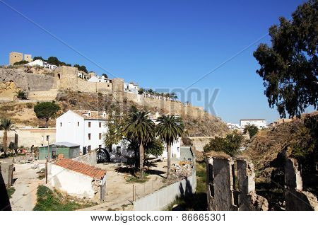 Castle and watermill, Antequera.