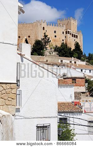 White town and castle, Velez Blanco.