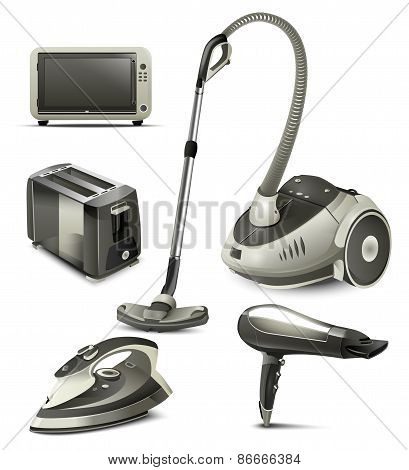 Household appliances Illustration