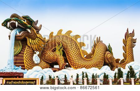 Dragon Big, March 2015 in The Suphan Buri At Thailand
